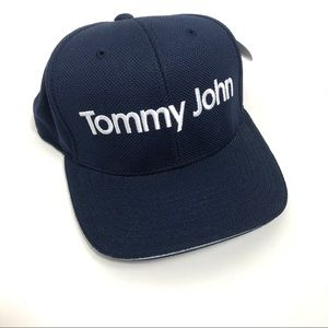 800f829a3 Tommy John One Ten Flexfit Tech Navy Cap NWT NWT